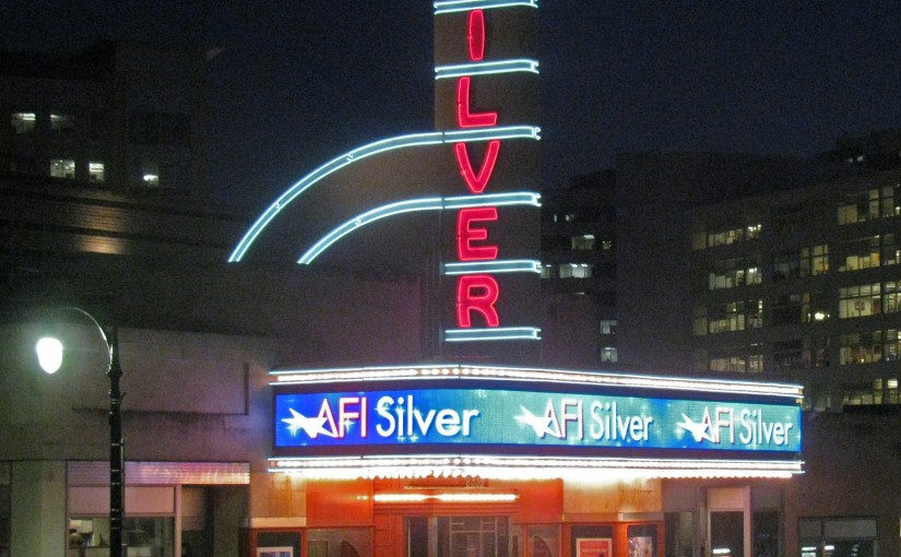 Todd Hitchcock - AFI Silver marquee at night IMG_0940