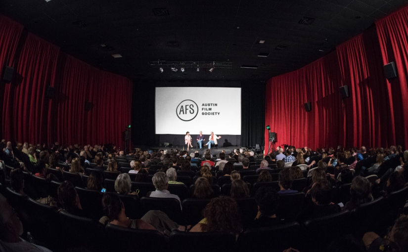Austin Film Society - Cinema Interior _Audience and Screen_2016