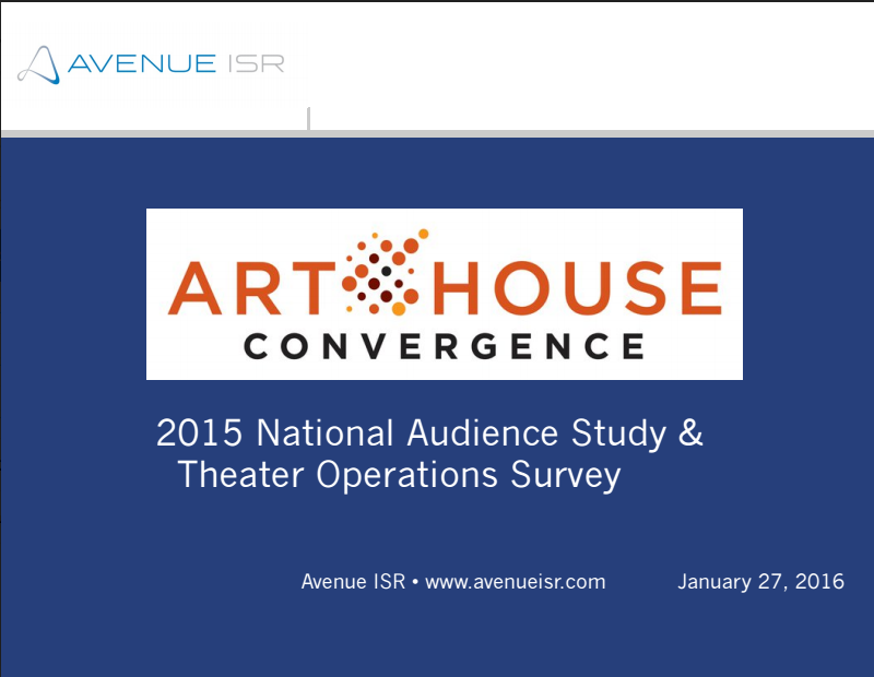 National Audience Survey 2015