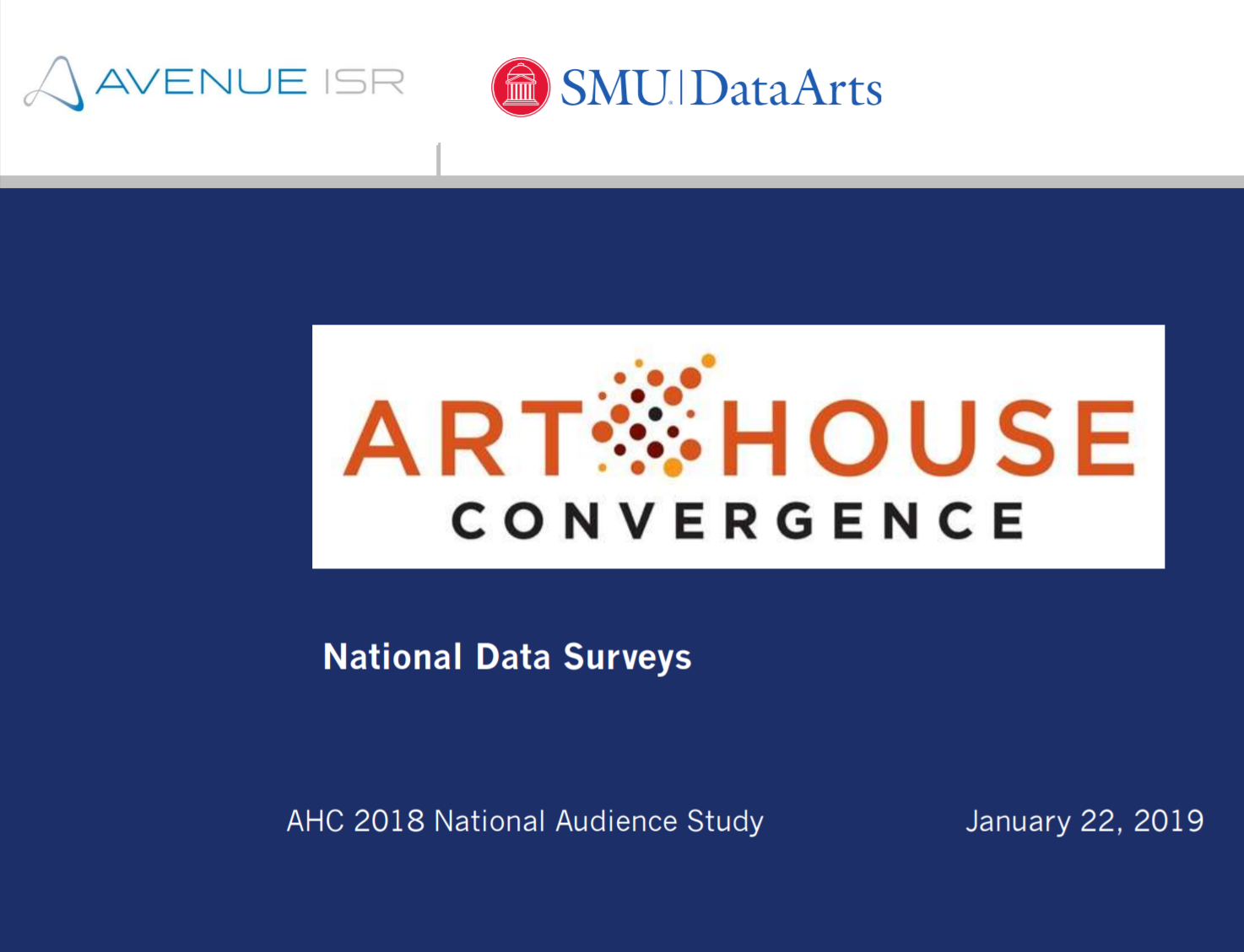 National Audience Survey 2018
