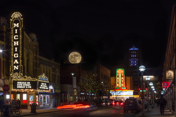 The Michigan and State Theaters